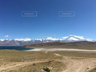 チベットの景色の写真・画像素材[955254]