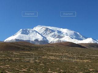 チベットの山の写真・画像素材[955255]