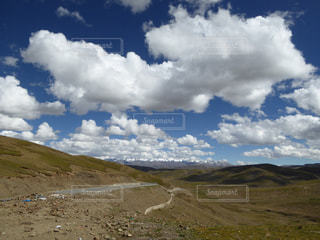 チベットの風景の写真・画像素材[955707]