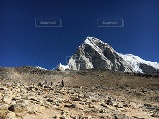 ネパールの山の写真・画像素材[958018]