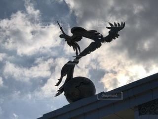 タシケントの空の写真・画像素材[1135035]