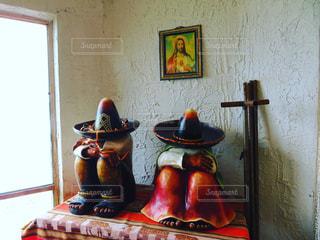 家庭の中の信仰の写真・画像素材[1135215]