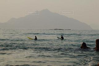 小浜のサーファーの写真・画像素材[955326]