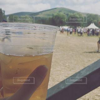 夏フェスのビールの写真・画像素材[1057671]