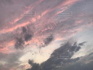 空に雲の群しをするの写真・画像素材[2387034]