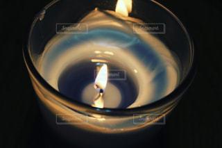 アロマキャンドルの写真・画像素材[1002292]