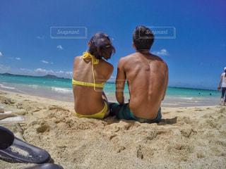 ビーチの写真・画像素材[955845]