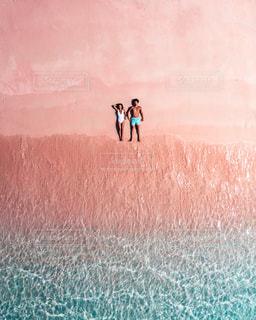 ピンクビーチの写真・画像素材[2733302]