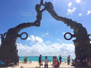 Playa del Carmenの写真・画像素材[957031]