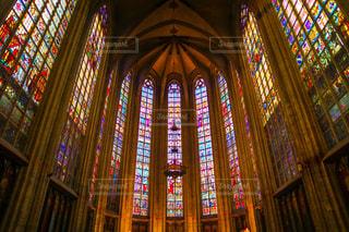 ステンドグラスの世界の写真・画像素材[1493360]