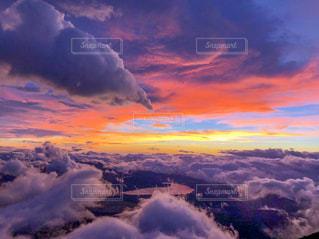 富士八合目からの絶景の写真・画像素材[1493362]