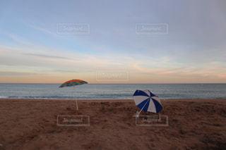 バルセロナビーチのサンセットの写真・画像素材[1811707]