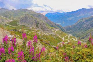 スイスの大自然の写真・画像素材[2127684]
