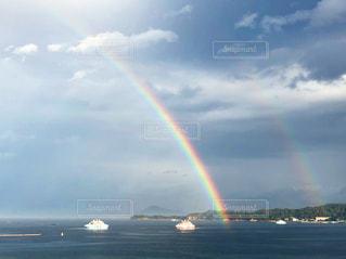 ダブルの虹の写真・画像素材[963995]