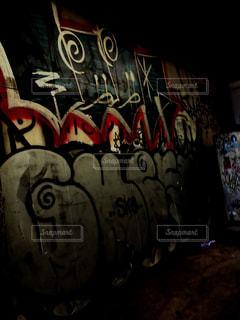 グラフィティの壁の写真・画像素材[957787]
