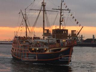 大きな船の写真・画像素材[957391]