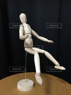 リアクションする人形の写真・画像素材[957590]