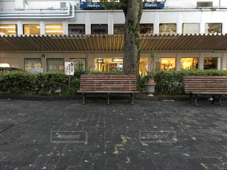 寂しいベンチの写真・画像素材[957592]