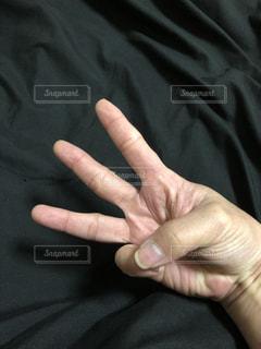 指三本の写真・画像素材[957643]