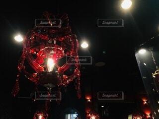 オシャレなバーの照明の写真・画像素材[3737229]