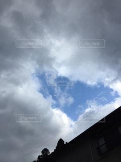 空には雲のグループの写真・画像素材[957654]