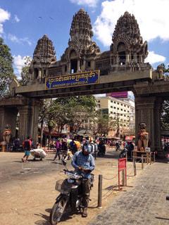 タイ〜カンボジアの国境越えの写真・画像素材[959463]