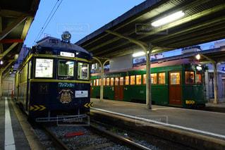 レトロな電車の写真・画像素材[960085]