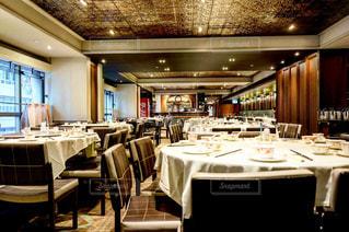 レストランのテーブルの写真・画像素材[1052208]