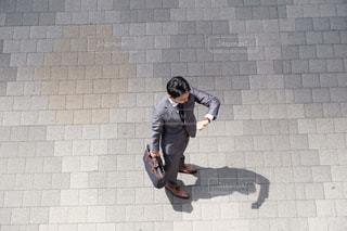 俯瞰 ビジネスマンの写真・画像素材[1707544]