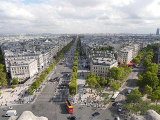 凱旋門からの景色の写真・画像素材[959299]