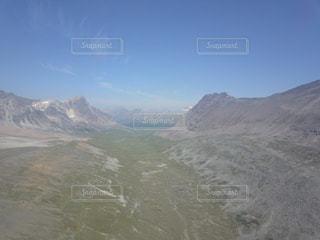 ドローンから見たロッキー山脈の写真・画像素材[959674]