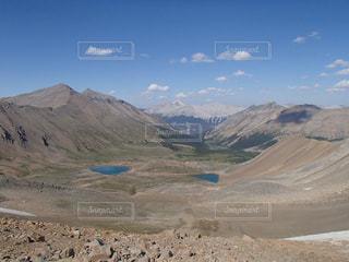 尾根からの眺めの写真・画像素材[959680]