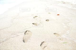 砂浜の足跡 - No.961930