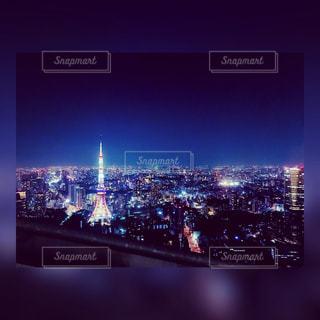 夜の街の景色の写真・画像素材[960633]