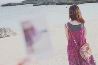 砂浜から望む - No.960390