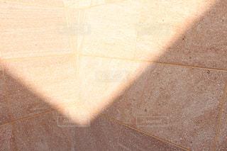 タイル張りの床のビューの写真・画像素材[1059819]