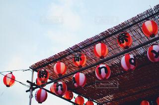 神田明神の赤提灯の写真・画像素材[1425039]