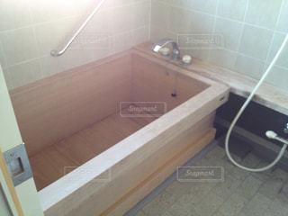 ヒノキ風呂の写真・画像素材[294736]