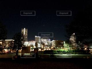 夜のみなとみらいの写真・画像素材[960780]