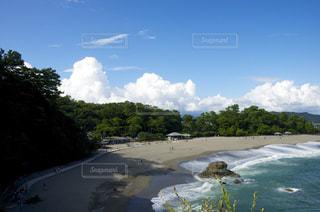 高知の桂浜の写真・画像素材[961980]
