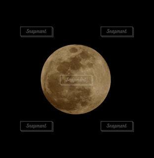20180131満月の写真・画像素材[986558]