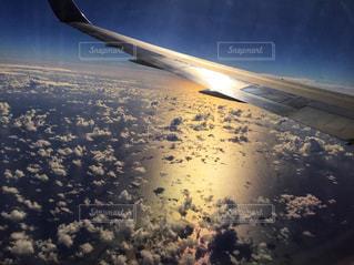 雲の上の写真・画像素材[985534]