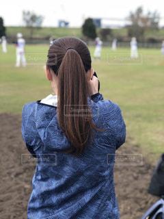 野球部のマネージャーの写真・画像素材[1185914]