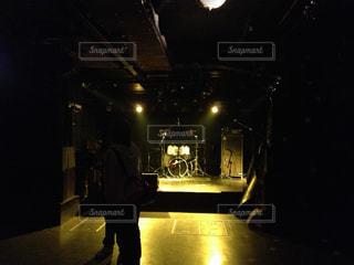 開演前のライブハウスの写真・画像素材[962500]
