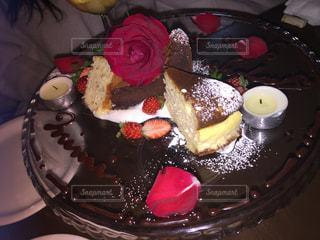 皿の上のケーキ - No.962415