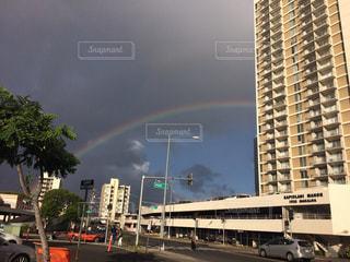 虹の街の写真・画像素材[963255]