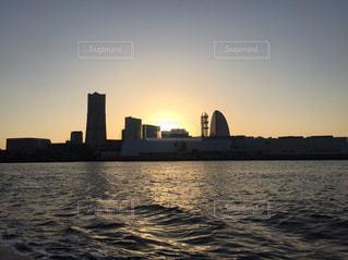 横浜港、シーバスからの眺めの写真・画像素材[964243]