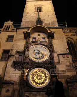 プラハの天文時計の写真・画像素材[996966]