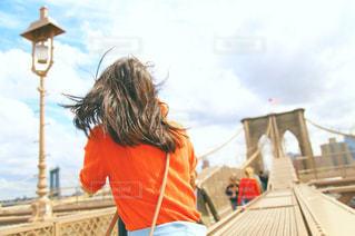 ブルックリン橋の写真・画像素材[1517167]