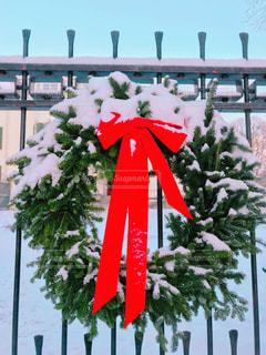 クリスマスリースの写真・画像素材[964972]